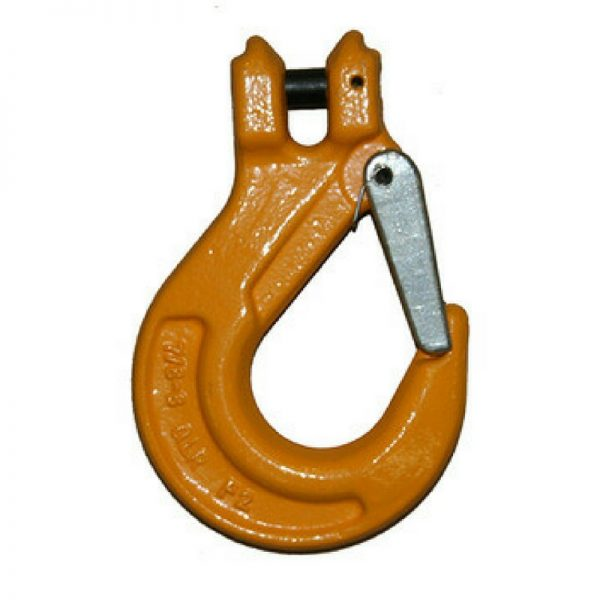 Sling Hook with Latch G80 - Clevis