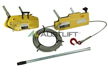 Tirfors: Winch Cable or Rope
