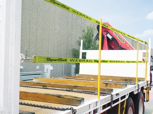 WebRail Heavy Vehicle Fall Protection System