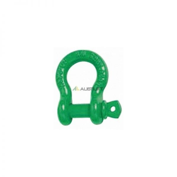 Grade 'S' Shackle, Bow Type, Gold Screw Pin
