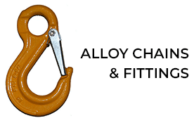 Alloy chains & fittings
