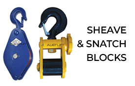 Sheave & Snatch Blocks