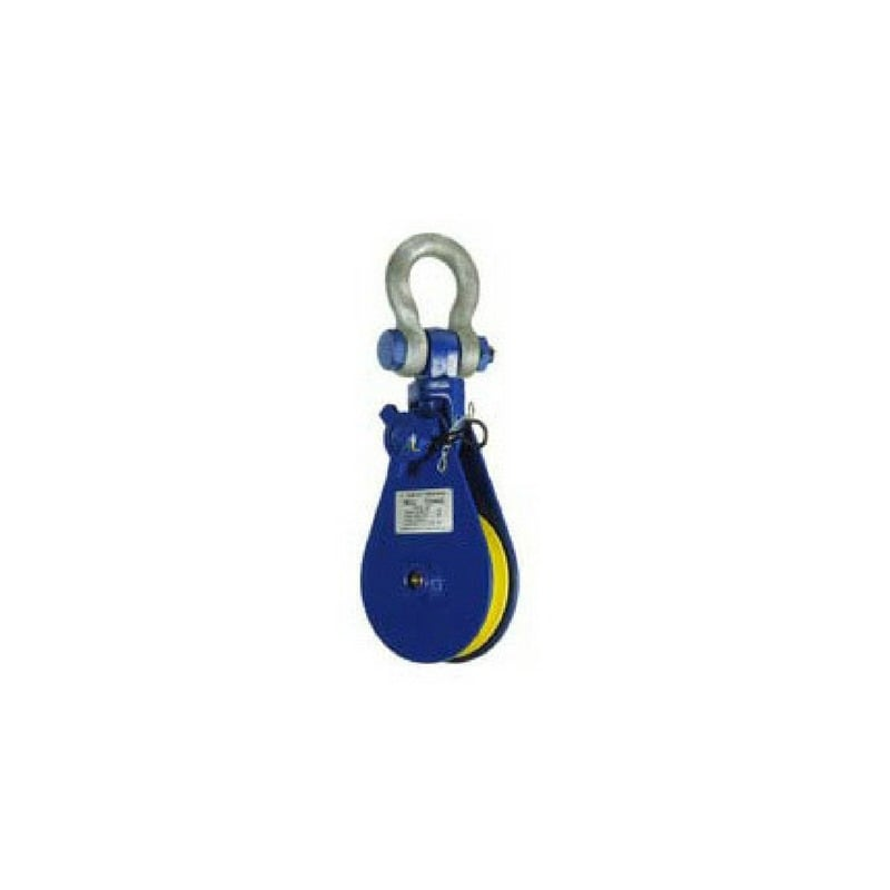 Heavy Duty Snatch Block Swivel Shackle Head