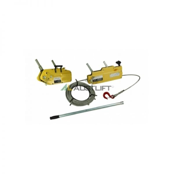 Wire Rope Winch with Aluminium Case